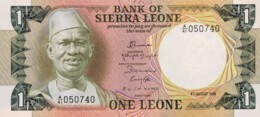 Sierra Leone 1 Leone, P-5e (4.8.1984) - UNC - Sierra Leone