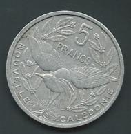 Nouvelle Calédonie, 5 Francs 1952  - Laupi14005 - Nuova Caledonia