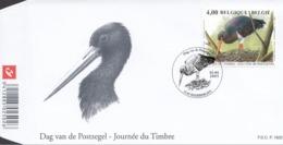 Lote 194FDC - Belgium 2005 - Ciconia Nigra - 1985-.. Vögel (Buzin)