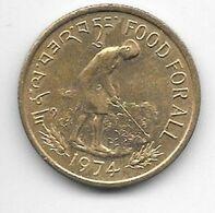 *Bhutan 20 Chetrums 1974 Km 39  Unc/ms63 - Bhutan