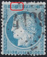 N°37 Très Belle Variété Avec REPUB Sans P, Jamais Vu Avant, RRR Et TB - 1870 Assedio Di Parigi