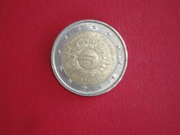 2 Euros Italie 2012 - 10 Ans De L'euro - Italia