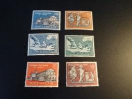 K38915 -  Set MNh Vatican City 1961 - SC. 304 -309 - ST. Paul .... - Ungebraucht