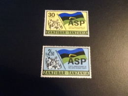 K38948- Set And StampsMNH Jamhuri Zanzibar Tanzania 1966-67 - Zanzibar (1963-1968)