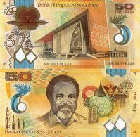 PAPUA NEW GUINEA, 50 Kina, 2012, Polymer, P32b, UNC - Papoea-Nieuw-Guinea
