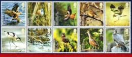 Ref. IN-V2011-3 GREAT BRITAIN 2011 BIRDS, ANIMALS & FAUNA, FULL SET, MNH 10V - Colecciones & Series