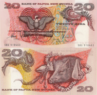 PAPUA NEW GUINEA, 20 Kina, 1996, P10b, UNC - Papoea-Nieuw-Guinea