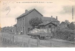62. N°55131.avesnes Le Comte.la Gare - Avesnes Le Comte