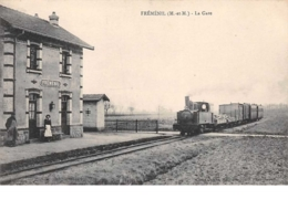 54. N° 55008.fréménil.la Gare.train - Altri Comuni