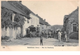 39.n°57028.sellières.rue Du Faubourg.batage.batteuse - Andere Gemeenten