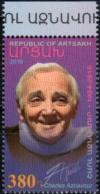 """Artsakh 2018 """"In Memory Of Charles Aznavour"""" 1v Quality:100% - Armenia"""