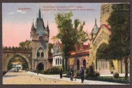 Budapest 1915 - Burg Vajdahunyad Em Stadtwäldchen - Feldpost - Hungary
