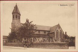 Zandvoorde Kerk Ieper Geanimeerd (In Zeer Goede Staat) - Ieper