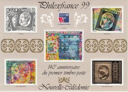 "New Caledonia, 1999, ""Philexfrance 99""  Kago, Bird, Birds, S/S, MNH** - Andere"