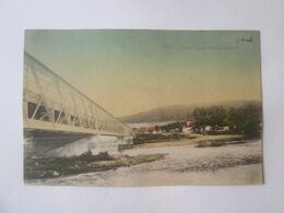Romania-Simeria/Piski(Hunedoara)-The Bridge Over The River Mureș,unused Postcard About 1918 - Rumänien