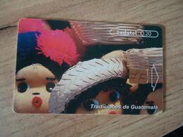 GUATEMALA USED CARDS    PAINTING - Guatemala
