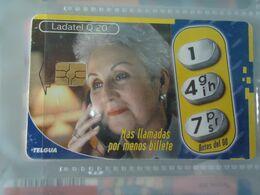 GUATEMALA USED CARDS ADVESTISING PHONE - Guatemala
