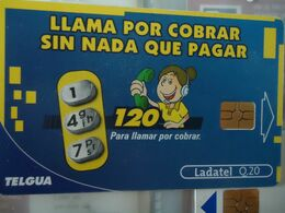 GUATEMALA  USED CARDS ADVERTISING  2 SCAN - Guatemala