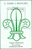 SAINT THOMAS AND PRINCE ISLS. 1988 SCOUT JAMBOREE S/S** (MNH) - Sao Tome And Principe
