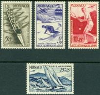 MONACO 1948 LONDON OLYMPICS AIR MAILS** (MNH) - Nuovi