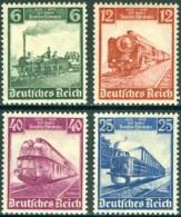 GERMANY 1935 RAILWAYS CENTENARY** (MNH) - Unused Stamps
