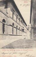 SIENA-ISTITUTO DEI SORDOMUTI FONDATO DA TOMMASO FENDOLA- CARTOLINA VIAGGIATA IL 10-9-1902 - Siena