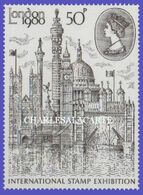 GREAT BRITAIN 1980  LONDON STAMP SHOW 1980  U.M. S.G. 1118  N.S.C. - Nuovi