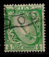 IRLANDE - 1922 - YT N° 40 - Oblitéré - Glaive De Lumière - 1922 Governo Provvisorio