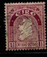 IRLANDE - 1922 - YT N° 42 - Oblitéré - Carte - 1922 Governo Provvisorio