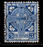 IRLANDE - 1922 - YT N° 45 - Oblitéré - Croix Celtique - 1922 Governo Provvisorio