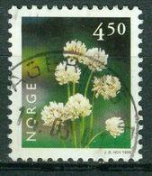 Bm Norway 1998 MiNr 1271 Used | Flowers. White Clover - Gebraucht
