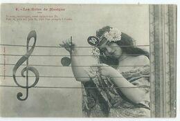 Illustrateur Bergeret Les Notes De Musique N° 8 - Bergeret