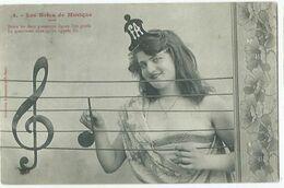 Illustrateur Bergeret Les Notes De Musique N° 4 - Bergeret