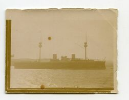 Toulon Navire Le Pelayo 1898  Photo Format 4,5x6 - Photos