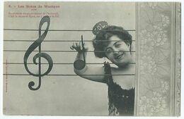Illustrateur Bergeret Les Notes De Musique N° 5 - Bergeret