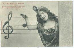 Illustrateur Bergeret Les Notes De Musique N° 7 - Bergeret