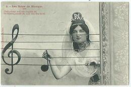Illustrateur Bergeret Les Notes De Musique N° 2 - Bergeret