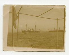 Toulon Navire Le Pelayo Et Le Victoria 1898  Photo Format 4,5x6 - Photos