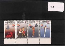 NB - [112004]TB//**/Mnh-Arménie  -  Sports, Jeux Olympiques, Haltérophilie, Gymnastique, Boxe - Otros