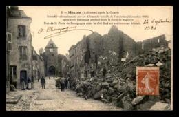 08 - MOUZON - RUE DE LA PORTE DE BOURGOGNE DETRUITE - Francia