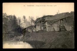 08 - TOURNES - ROUTE DE LA GARE DETRUITE - Otros Municipios