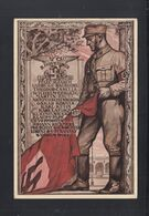 Dt. Reich PK Gedenken 9. November 1923 Gelaufen - Figuren