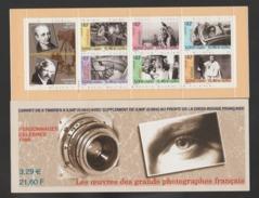 "FRANCE / 1999 / Y&T N° 3262/3267 ** En BC Ou BC3268 ** (Bande-carnet ""Photographes"") X 1 - People"