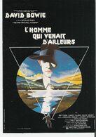 DAVID BOWIE - L'HOMME QUI VENAIT D'AILLEURS. CP Humour à La Carte AC 10 - Posters On Cards