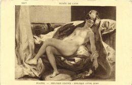 DESTOCKAGE BON LOT 100 CPA  ART : TABLEAUX SCULPTURES (Toutes Avec  Des Nues) (Toutes Scanées ) - 100 - 499 Cartoline