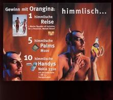 Publicité Boisson Orangina City Cards Germany Allemagne Diable / Carte Double - Pubblicitari