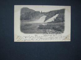 C00 - LA CASCADE  - 1899 - Relais De Poste à WERBOMONT..près D' AYWAILLE.. - Stavelot