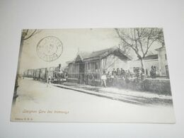 11 Lézignan, Gare Des Tramways (A2p6) - Otros Municipios