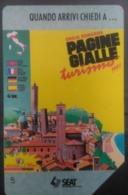 SCHEDA TELEFONICA ITALIANA - FIGURATE -PAGINE GIALLE TURISMO-EMILIA ROMAGNA- MANTEGAZZA- L 5000- C&C 2207 - [4] Collections