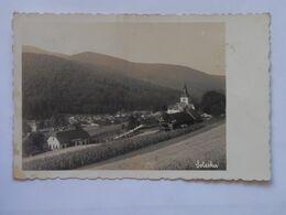 1303 Soteska 1946 Vesnice Village Panorama Hory Mountains Kostel Church - Slovenië